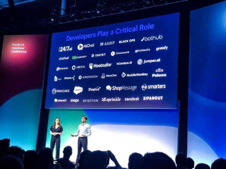 CHATISFY登上F8大螢幕為FB重要夥伴圖片