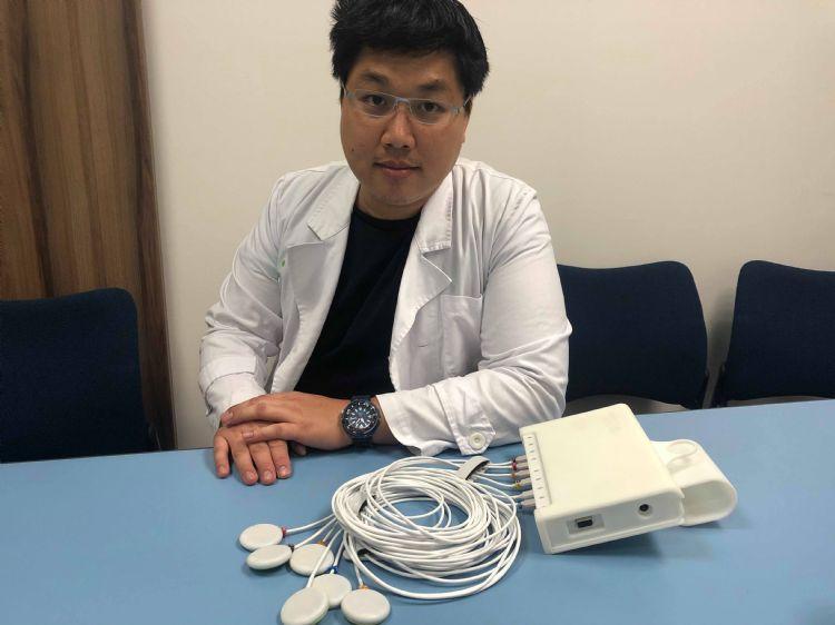 聿信醫療器材科技 / 創建肺音資料庫 新創聿信AI系統幫醫師聽哮喘病灶圖片