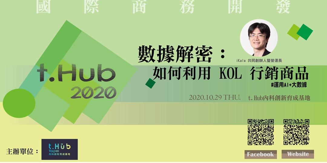 t.Hub 數據解密:如何利用 KOL行銷商品圖片