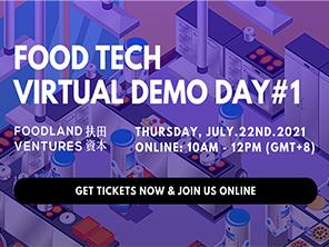 Foodland Ventures Food Tech Virtual Demo Day Image